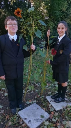 Pupils at Caldies Eco School in Liverpool