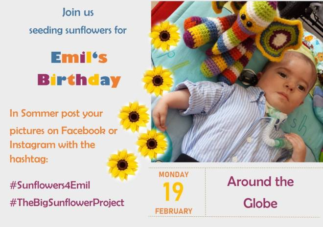 Emil's birthday invite.