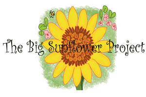 The Big Sunflower Project logo.